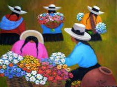 cuadros de eduardo millones - Buscar con Google Painting & Drawing, Watercolor Paintings, Peruvian Art, Mosaic Tile Art, Painting People, Naive Art, Mexican Folk Art, Graphic Patterns, Painting Inspiration
