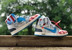 967a8f0ec3227 OFF-WHITE x Air Jord OFF-WHITE x Air Jordan 1 UNC Parra Custom