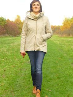 S.SewS: Mijn Polly-jas met een schapenvelletje