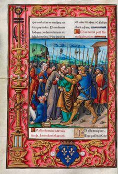 Biblioteca Digital Hispánica - 002-Evangeliario de París para uso de Carlos Duque de Angulema - 1500-1600