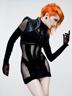 Model: Ulorin Vex    Photo: Allan Amato  Hair/MUA: Jill Fogel  Clothing: Mother of London