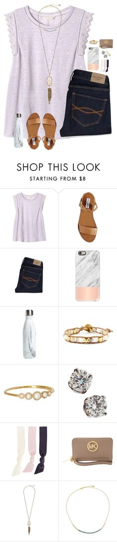 """""""overflow montgomery 2016!!"""" by melaniebethc ❤ liked on Polyvore featuring Rebecca Taylor, Steve Madden, Abercrombie & Fitch, Casetify, S'well, Chan Luu, Kate Spade, Tiffany & Co., Splendid and MICHAEL Michael Kors"""