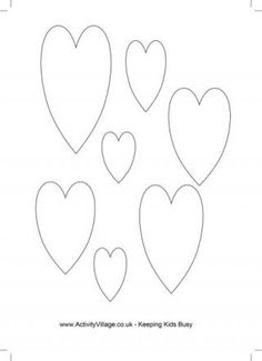 Heart Templates 2