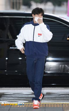 EXO Suho airport fashion at Incheon Airport [170921]