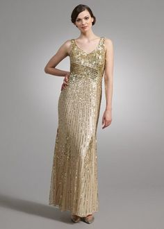2fd642c7600f longhems.com gold long dress (04)  longdresses Sequin Bridesmaid Dresses