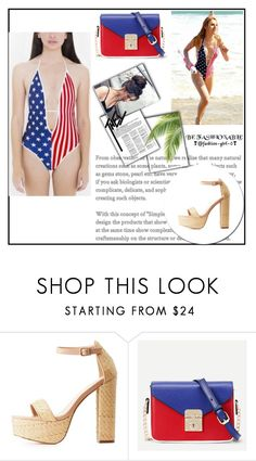 """""""Bella Thorne - Out on the Malibu beach"""" by ketrin-maknamara ❤ liked on Polyvore featuring Charlotte Russe and WithChic"""