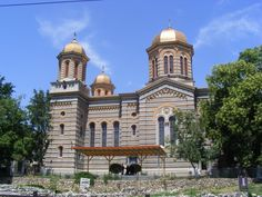 Peter and Paul Cathedral, Constanta, Built by the architect Ion Mincu between Peter And Paul Cathedral, Bulgaria, Mansions, Country, House Styles, Building, Beautiful, Manor Houses, Rural Area