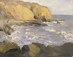 The Cove Franz Bischoff | Oil Painting Reproduction | 1st-Art-Gallery.com