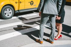 Engagement Session for New York City Lovers