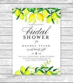 5e2083b208a Lemon bridal shower invitation idea  Courtesy of Etsy