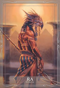 Egyptian Sun God Ra. Gods & Titans Oracle Review: