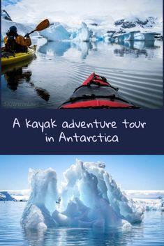 Kayak adventure tour in Antarctica - highlights to kayaking various islands and inlets around Antarctica with Poseidon Adventures