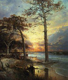 william trost richards watercolors   william trost richards 1833 1905 was a landscape artist associated ...