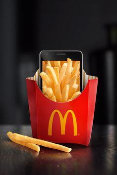 Explore more filtre studio chicago advertising retouching and photoshop wiz Clever Advertising, Mobile Advertising, Advertising Design, Mcdonalds, Mobile App, Crazy Burger, App Promotion, Ads Creative, Edible Food