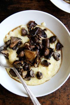 roasted mushrooms an
