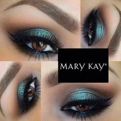 Beautiful!  Emerald Noir -Midnight Jewels Collection by @marykayus @marykaybrasil #makeup #maquiagem #marykay #instagram #emeraldnoir #midnightjewels #green #eyeshadow #valentinasemprepronta #maquiagemparaolhos #eyemakeup #amazing #beautiful #maquillaje