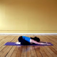 Pin for Later: The Short and Sweet Yoga Sequence You Can Do Every Morning Child's Pose