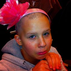 "Lauren, 14, relapsed in November, mom Cherri Chiodo writes. ""my sunshine."""