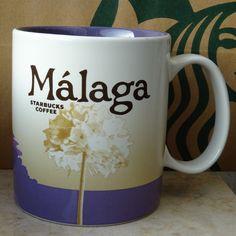 Starbucks City Mug Cup Global Icon Series Malaga Spain 16oz NEW