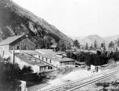Colorado Central Railroad in Lawson, Colorado c. 1875-1900.