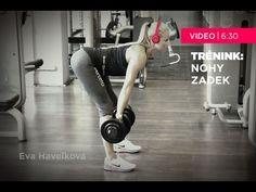 Eva Havelková - trénink: nohy a zadek - YouTube