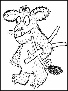 Learn How to Draw Mouse from The Gruffalo (The Gruffalo