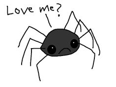 Hyperbole and a Half: Spiders are Scary. It's Okay to be Afraid of Them. *UPDATED*