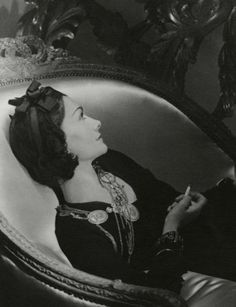 Vintage Photos of Designers We Love : Lucky Magazine (Coco Chanel)