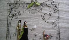 astrid.l - Art et création textile / fil de fer......pièces uniques et petites séries...... depuis 2007.