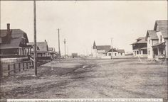RP: Second Street, North, Looking West from Borden Ave , VERMILION , Alberta , Canada , PU-1912 Item# SCVIEW242895 (209555201)