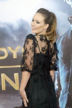 Olivia Wilde on the red carpet in San Diego