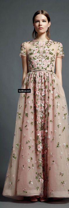 Valentino Pre Spring 2013 RTW hook, wedding dressses, dream dress, flower dresses, dress fashion, beauti, gown, romantic dresses, vintage flowers