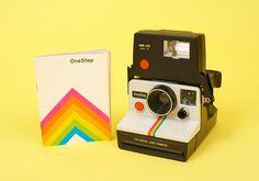 #polaroid #camera #rainbow <3