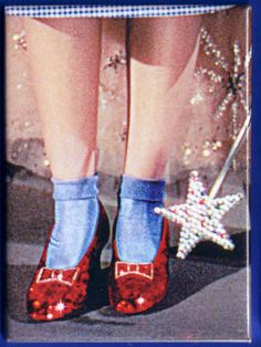 And of course, these...Everyone from Kansas remembers Dorothy and the Wizard of Oz.