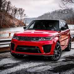 Rate This Red Range Rover 1 to 100 - Autos Range Rover Auto, Range Rover 2014, New Range Rover Sport, Pink Range Rovers, Range Rover White, Range Rover Svr, The New Range Rover, Bugatti Veyron Gold, Range Rover Interior