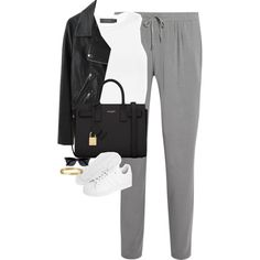 Untitled #1098 by lovetaytay on Polyvore featuring Calvin Klein Collection, Acne Studios, DKNY, adidas Originals, Yves Saint Laurent and River Island