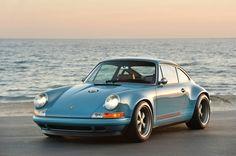 Singer Porsche. This exact color scheme.