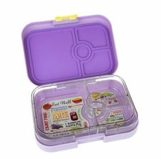 Yumbox Panino Lavande Purple - leakproof lunchbox in a larger size for bigger tummies! $39.95 www.sweetcreations.com.au #sweetcreations #kids #baby #toddler #lunchbox #nomnom