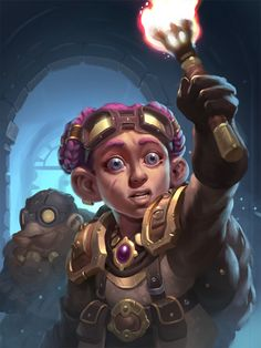 ArtStation - Through the Corridor, Prosper Tipaldi World Of Warcraft Game, World Of Warcraft Characters, Warcraft Art, Dnd Characters, Dungeons And Dragons Art, Dungeons And Dragons Homebrew, Fantasy Rpg, Fantasy Artwork, Character Concept
