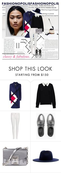 """""""classy & fabulous."""" by lifestyle-ala-grace ❤ liked on Polyvore featuring MSGM, Essentiel, Polo Ralph Lauren, Max&Co., Proenza Schouler and Études"""