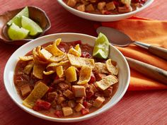 Mexican Chorizo and Turkey Chili from FoodNetwork.com **5 STARS best use of leftover turkey but only required a small amount 1 lb**
