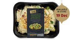 Specially Selected Brussels Sprouts with Bacon & Stilton #AldiChristmasEssentials #Christmas