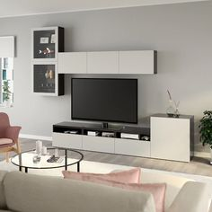 Bedroom Tv Stand with Drawers . Bedroom Tv Stand with Drawers . Pin On Products Bedroom Tv Stand, Tv In Bedroom, Bedroom Wall Colors, Bedroom Layouts, Gray Bedroom, Bedroom Sets, Modern Bedroom, Bedroom Decor, Tv Stand With Glass Doors