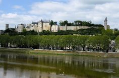 Château de Chinon on the Vienne River