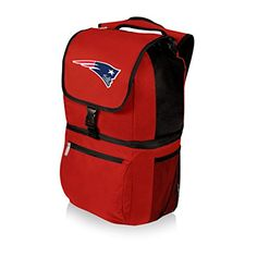 NFL Zuma Insulated Cooler Backpack Red New England Patriots -- Want additional info? Click on the image.