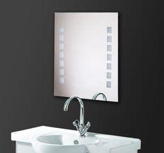 197€ 100x80 Badspiegel mit LED Beleuchtung F112L2V