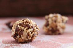 Постные конфеты из смеси семян