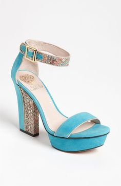 Vince Camuto 'Nedra' Sandal (Nordstrom Exclusive). Fun colors & totally sassy.  $128.95.