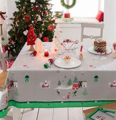 26 Meilleures Images Du Tableau Nappes Déco De Noël Tablecloths
