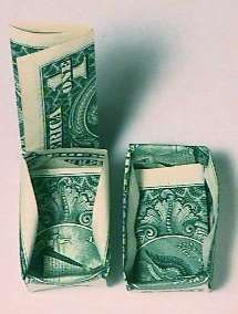 Origami Money Box